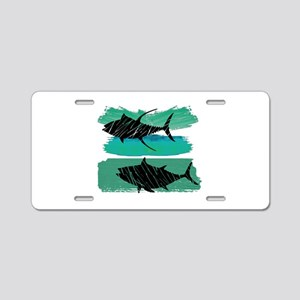 RIDE THE SURF Aluminum License Plate