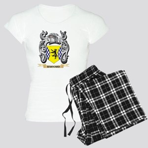 Barnard Family Crest - Barnard Coat of Arm Pajamas