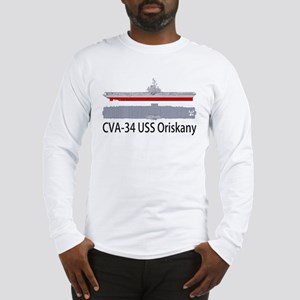 USS Oriskany CV/CVA-34 Long Sleeve T-Shirt
