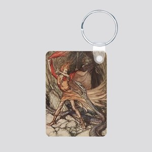 Loki Aluminum Photo Keychain