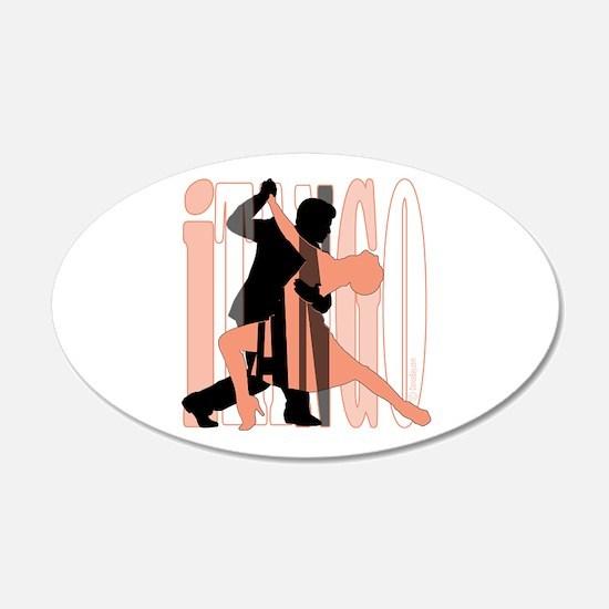 iTANGO by DanceBay.com 22x14 Oval Wall Peel