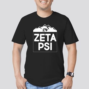 Zeta Psi Men's Fitted T-Shirt (dark)