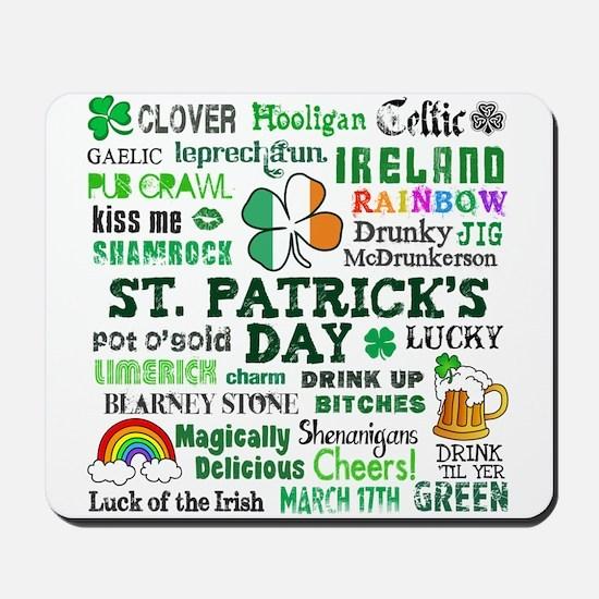 St. Patrick's Mousepad