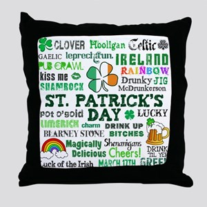 St. Patrick's Throw Pillow