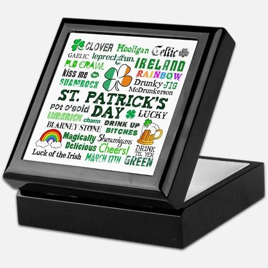 St. Patrick's Keepsake Box
