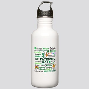 St. Patrick's Stainless Water Bottle 1.0L