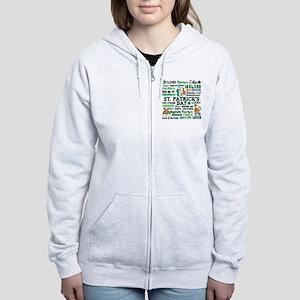 St. Patrick's Women's Zip Hoodie