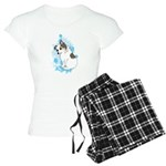 Kawaii Australian Shepherd Dog Women's Pajamas
