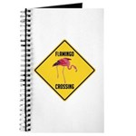 Flamingo Crossing Sign Journal