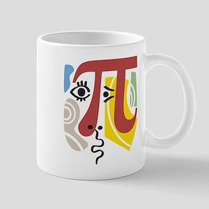 Pi Symbol Pi-Casso Mug Mugs