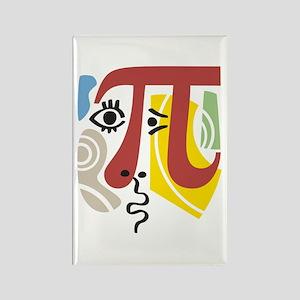 Pi Symbol Pi-casso Rectangle Magnet
