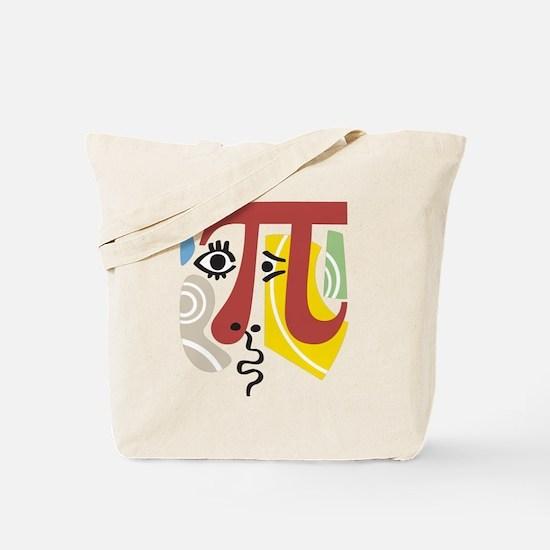 Pi Symbol Pi-casso Tote Bag