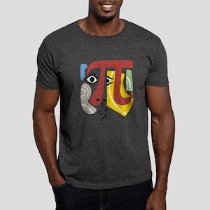 Pi Symbol Pi-casso Dark T-Shirt