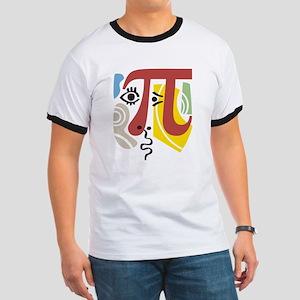 Pi Symbol Pi-casso Ringer T