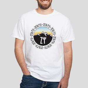 Zeta Psi White T-Shirt