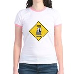 Macaw Crossing Sign Jr. Ringer T-Shirt