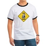 Macaw Crossing Sign Ringer T