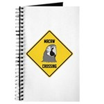 Macaw Crossing Sign Journal