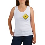 Budgie Crossing Sign Women's Tank Top