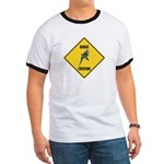 Budgie Crossing Sign Ringer T