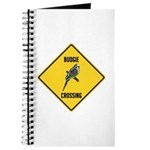 Budgie Crossing Sign Journal