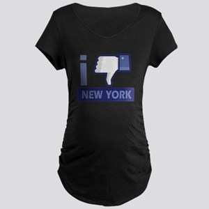I unlike New York Maternity Dark T-Shirt