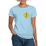 Parakeet Crossing Sign Women's Light T-Shirt