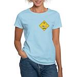 Swan Crossing Sign Women's Light T-Shirt