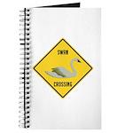 Swan Crossing Sign Journal