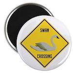 Swan Crossing Sign Magnet