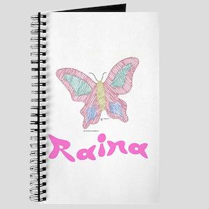 Pink Butterfly Raina Journal