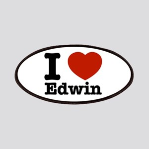 I love Edwin Patches