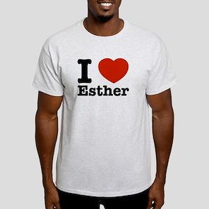 I love Esther Light T-Shirt