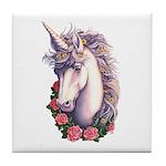 Unicorn Cameo Tile Coaster