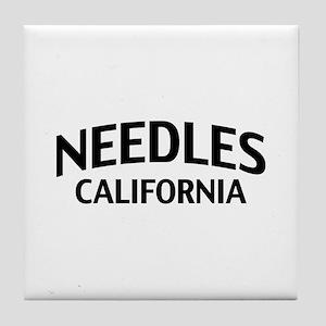 Needles California Tile Coaster