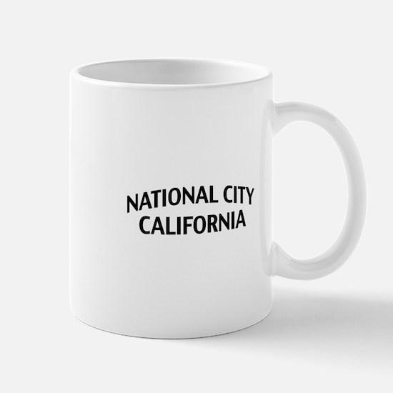 National City California Mug