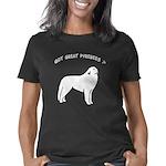 GotGreatPyrenees11_WHITEBL Women's Classic T-Shirt