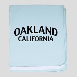 Oakland California baby blanket