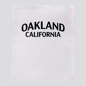 Oakland California Throw Blanket