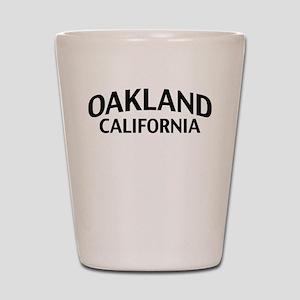 Oakland California Shot Glass