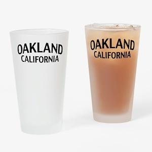 Oakland California Drinking Glass
