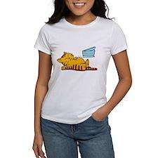 Funny Fat Cat Women's T-Shirt