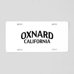 Oxnard California Aluminum License Plate