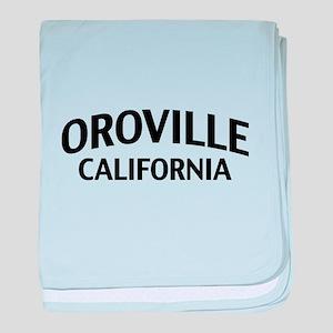 Oroville California baby blanket
