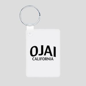 Ojai California Aluminum Photo Keychain