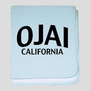 Ojai California baby blanket