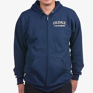 Oildale California Zip Hoodie (dark)