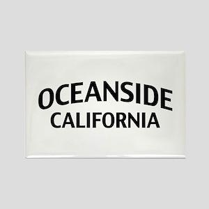 Oceanside California Rectangle Magnet