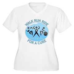 Prostate Cancer Walk Run Ride T-Shirt