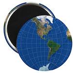 World Map Sphere 2: Magnet